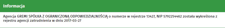 Проверка польского работодателя по базе kraz