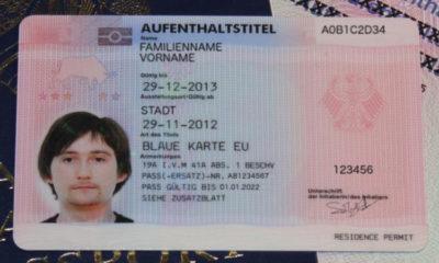 голубая карта в германии как получить