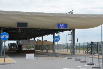 пешеходный переход в Угринове закрыт