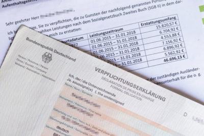 спонсорское письмо для визы в германию
