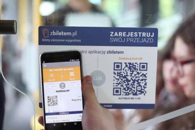 В Варшаве покупка билетов на транспорт возможна с помощью приложения