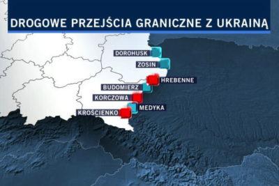 Увеличение очереди прохождения польской границы на Пасху и майские праздники