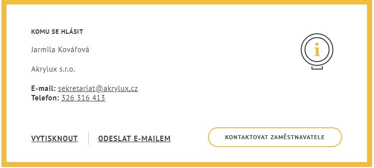 Поиск вакансий для трудовой карты в Чехии: шаг 3
