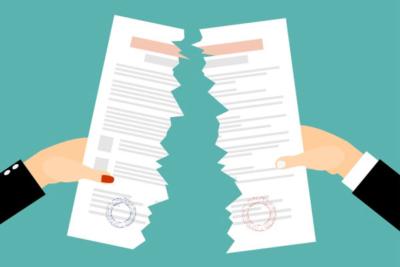 как аннулировать приглашение на работу