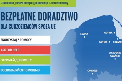 Адреса центров помощи иностранцам в Поморском воеводстве: консультации в шести городах 22