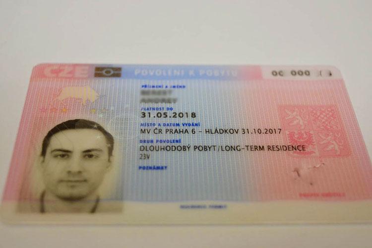 разрешение на долгосрочное пребывание в чехии