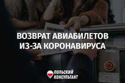 Возврат денег за отмененные рейсы для украинцев из-за коронавируса