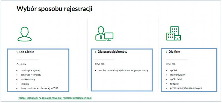 В Польше возобновлена запись в ZUS через интернет 4