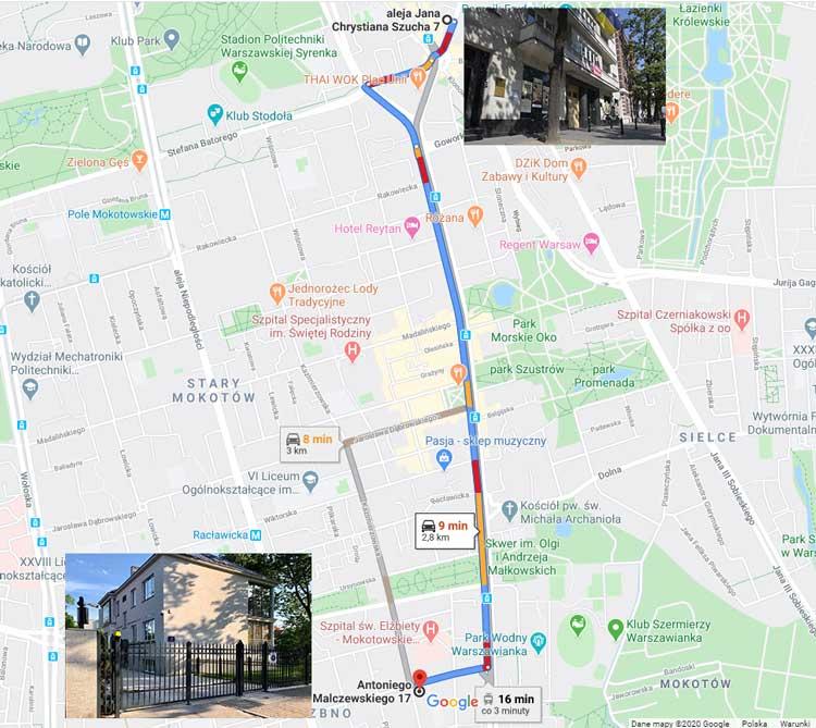 Консульский отдел Посольства Украины в Варшаве сменил свой адрес