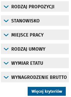 Поиск вакансий в Польше через Centralna Baza Ofert Pracy 6