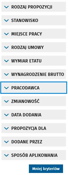 Поиск вакансий в Польше через Centralna Baza Ofert Pracy 7