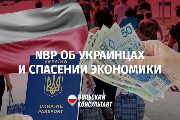 Статистика и прогноз Нацбанка Польши по иностранцам