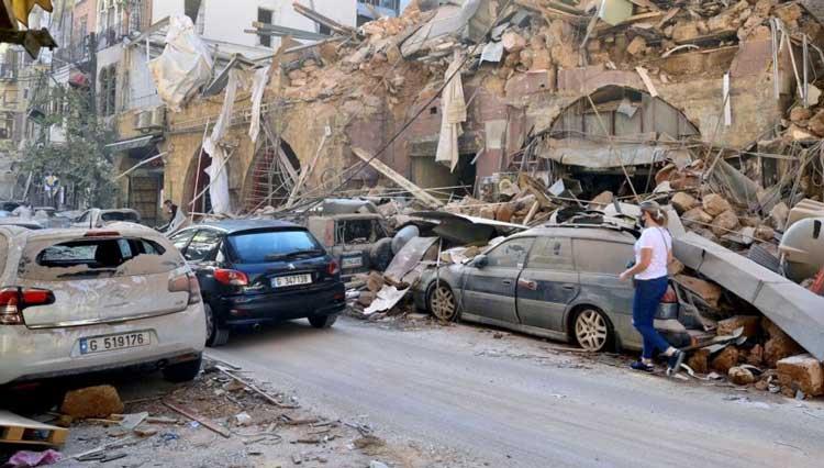 На помощь Бейруту: польские пожарные строят базу спасательной операции 5