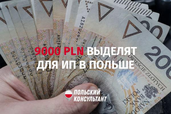 Индивидуальным предпринимателям Малопольского воеводства выделят по 9000 злотых