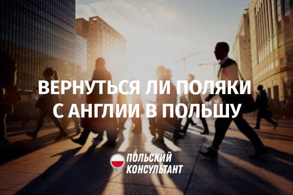 Вернутся ли поляки из Великобритании работать в Польшу