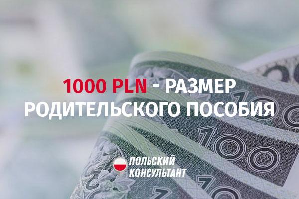 Kosiniakowe пособие в Польше