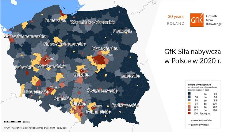 Польша опустилась на 28 место в рейтинге стран ЕС по покупательной способности 5