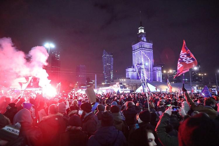 Strajk Kobiet от 29 января: петарды против полиции, газ против демонстрантов 4
