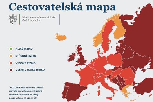 Въезд в Чехию по новым правилам с 5 февраля 1