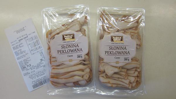 Где купить свиное сало в Польше и сколько оно стоит? 1