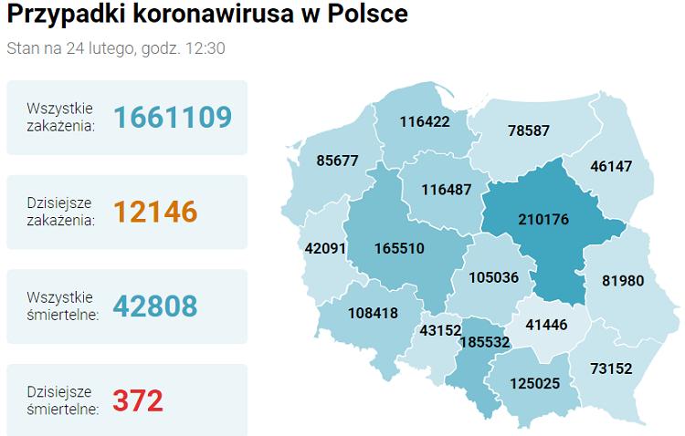 В Польше новые ограничения с 27 февраля 3