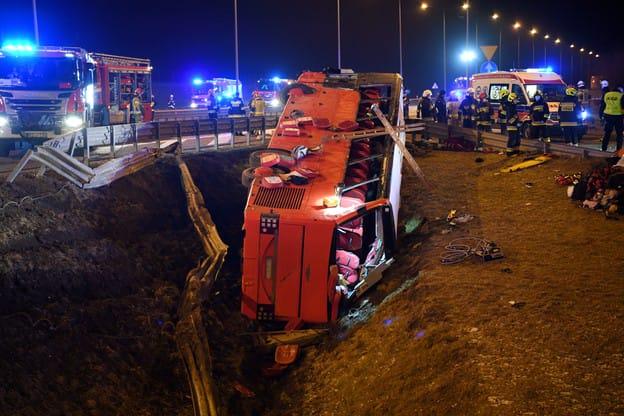 Страшная авария в Подкарпатском воеводстве. Погибло несколько украинцев, десятки ранены 1