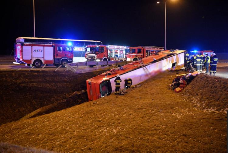 Страшная авария в Подкарпатском воеводстве. Погибло несколько украинцев, десятки ранены 4