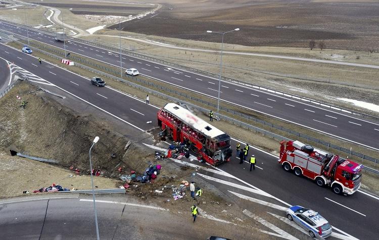 Страшная авария в Подкарпатском воеводстве. Погибло несколько украинцев, десятки ранены 7
