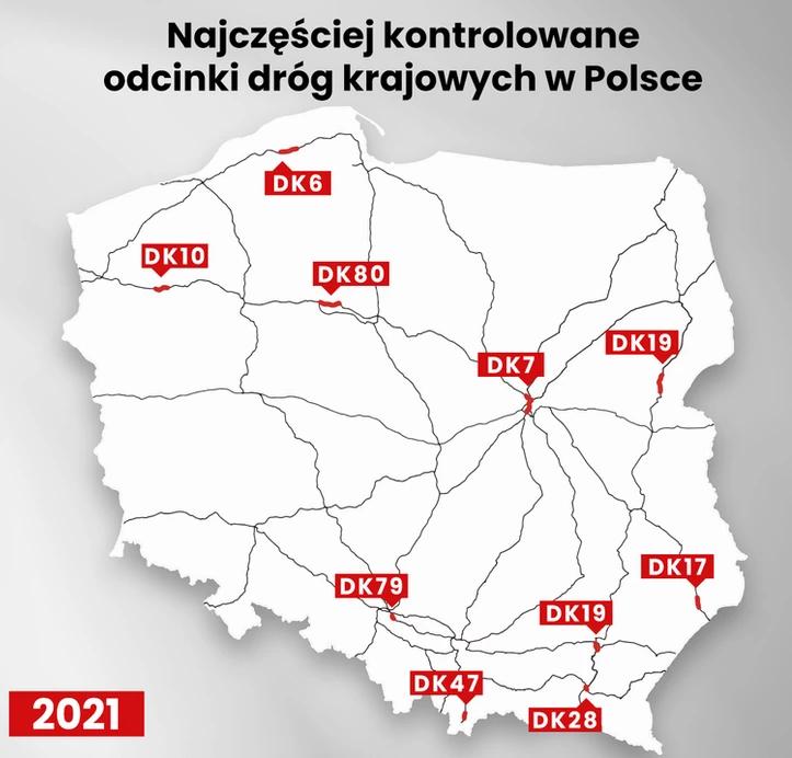 На майские праздники усиливается контроль на польских дорогах 2
