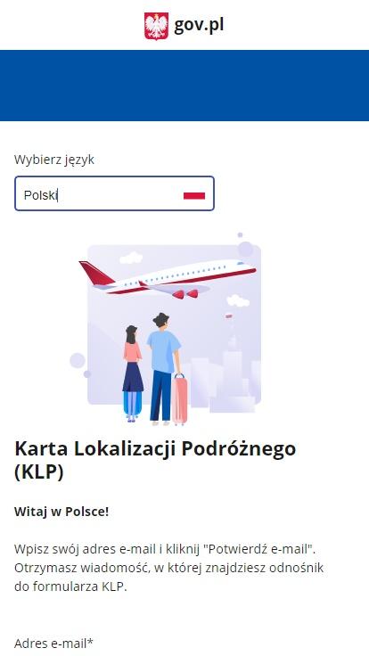 Что такое Karta Lokalizacji Podróżnego и как заполнить eKLP? 1