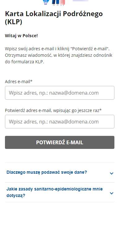 Что такое Karta Lokalizacji Podróżnego и как заполнить eKLP? 2