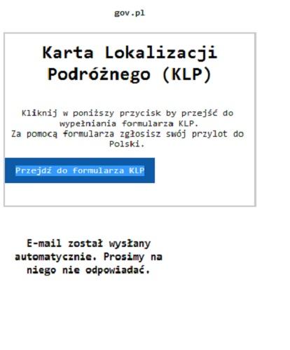 Что такое Karta Lokalizacji Podróżnego и как заполнить eKLP? 3