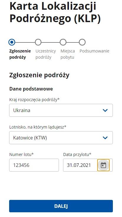 Что такое Karta Lokalizacji Podróżnego и как заполнить eKLP? 4