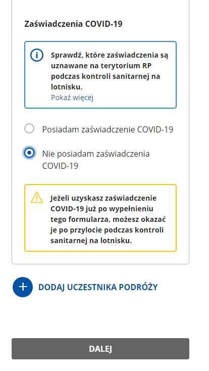 Что такое Karta Lokalizacji Podróżnego и как заполнить eKLP? 6