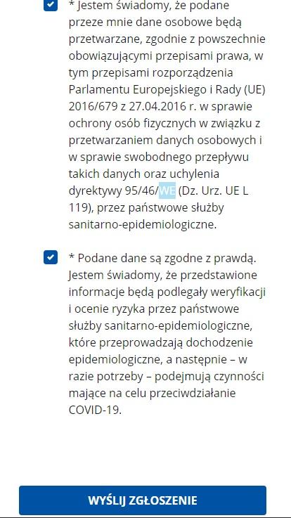 Что такое Karta Lokalizacji Podróżnego и как заполнить eKLP? 8