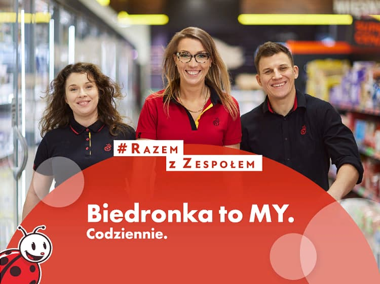 Biedronka приглашает на работу украинских заробитчан 1