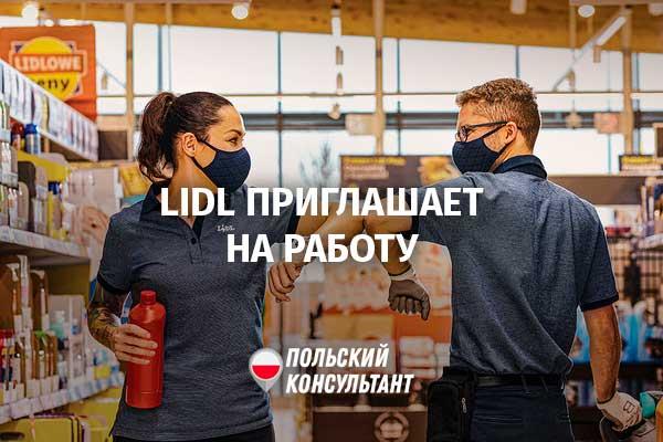 Магазины Lidl приглашают на работу около 500 человек 8