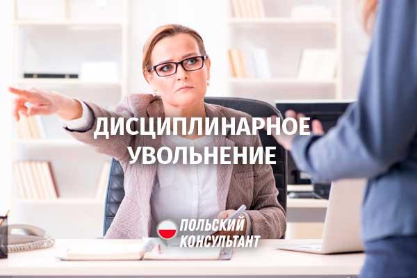Wilczy bilet. Дисциплинарное увольнение и его последствия в Польше 6